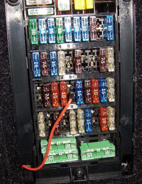 1998 porsche boxster fuse panel image 2