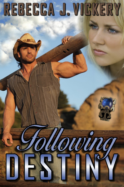 Following Destiny by Rebecca J Vickery