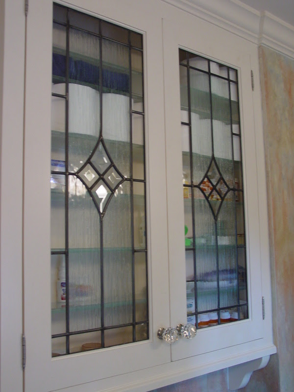 Beveled Cabinet Doors & Glass Inserts For Kitchen Cabinet ...