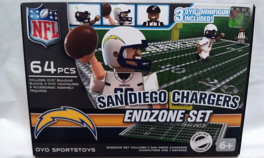 SAN DIEGO CHARGERS OYO Endzone field Team Sets NFL NEW G1  eBay