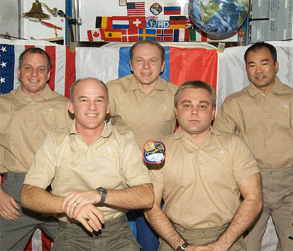 ISS022-E-045468 -- The Expedition 22 crew