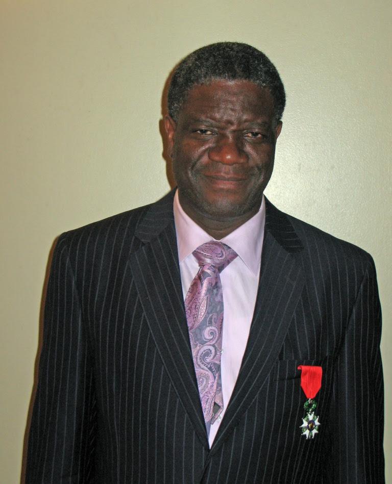 Appels répétés à protéger le docteur Mukwege