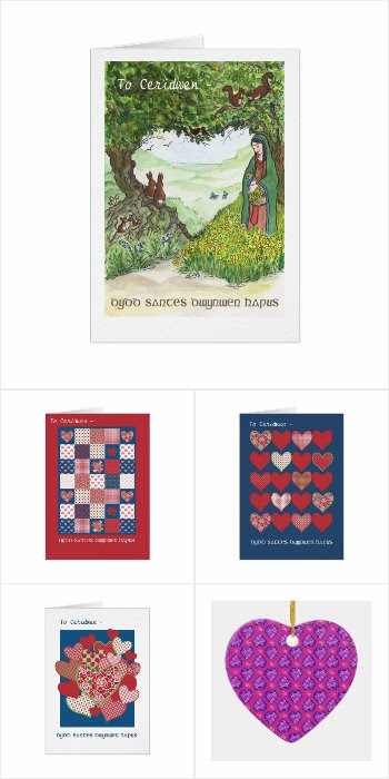 St Dwynwen's Day Gifts and Cards