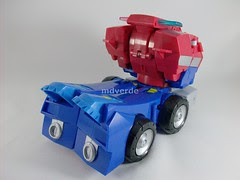 Transformers Optimus Prime Animated - modo alterno (by mdverde)