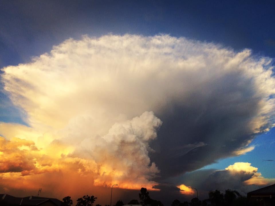 Enclume nuage chinchilla australie, enclume nuage chinchilla australie 27 février 2017, enclume nuage chinchilla australie images, enclume nuage chinchilla australie vidéo