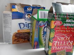 collect boxboard