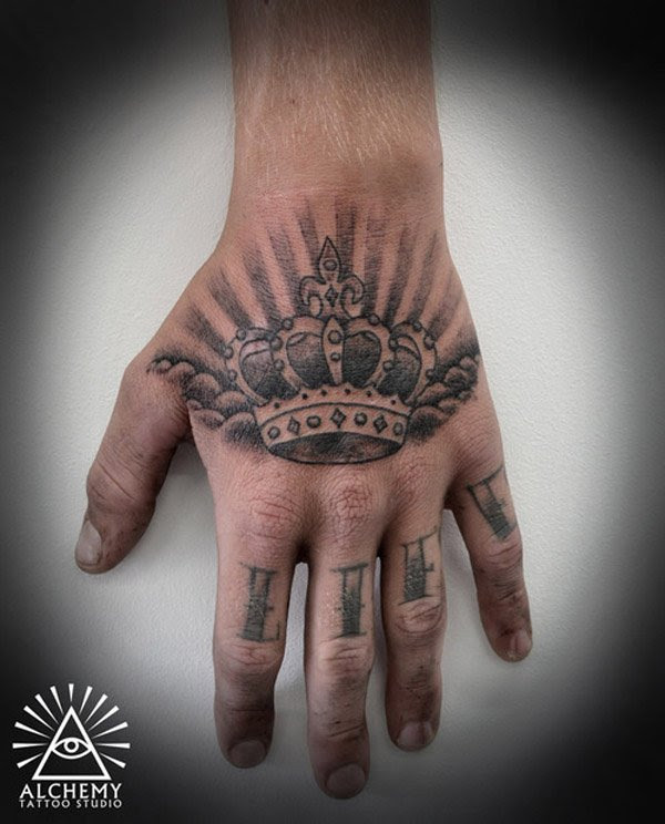 48 Crown Tattoo Ideas We Love Pretty Designs