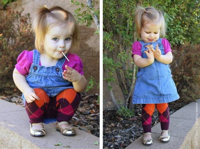 Детские легинсы из рукавов (Diy)