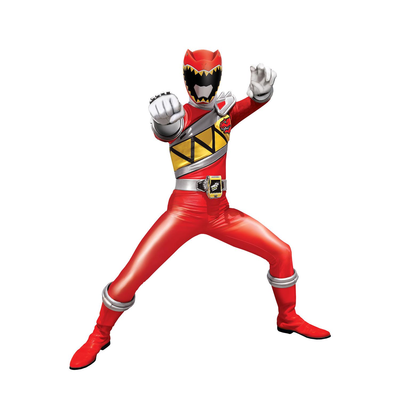 Power Rangers rouge Coloriage Héros