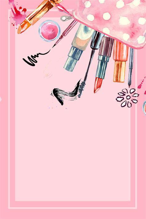 Watercolor Handpainted Cosmetics Cosmetics Beauty