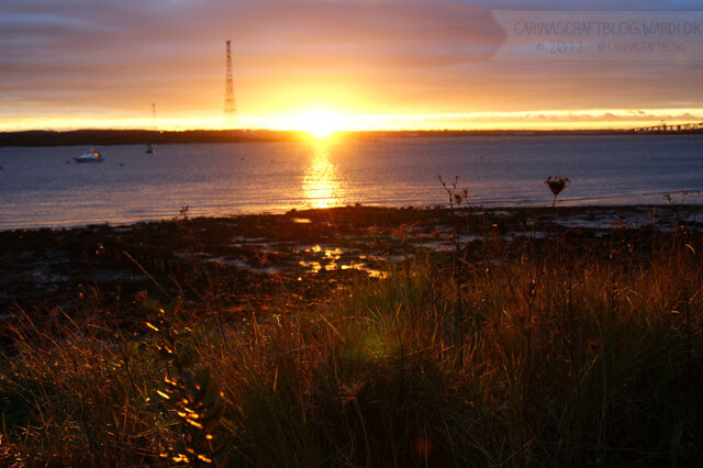 Sunset, December 7 2012 - 1