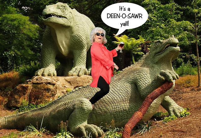 It's a Deen-O-Sawr!