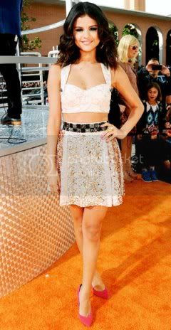 Kids Choice Awards 2012 Red Carpet Fashion Style