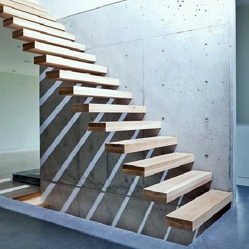 Detalles constructivos cad escalera de h a con escalones for Escaleras 7 escalones