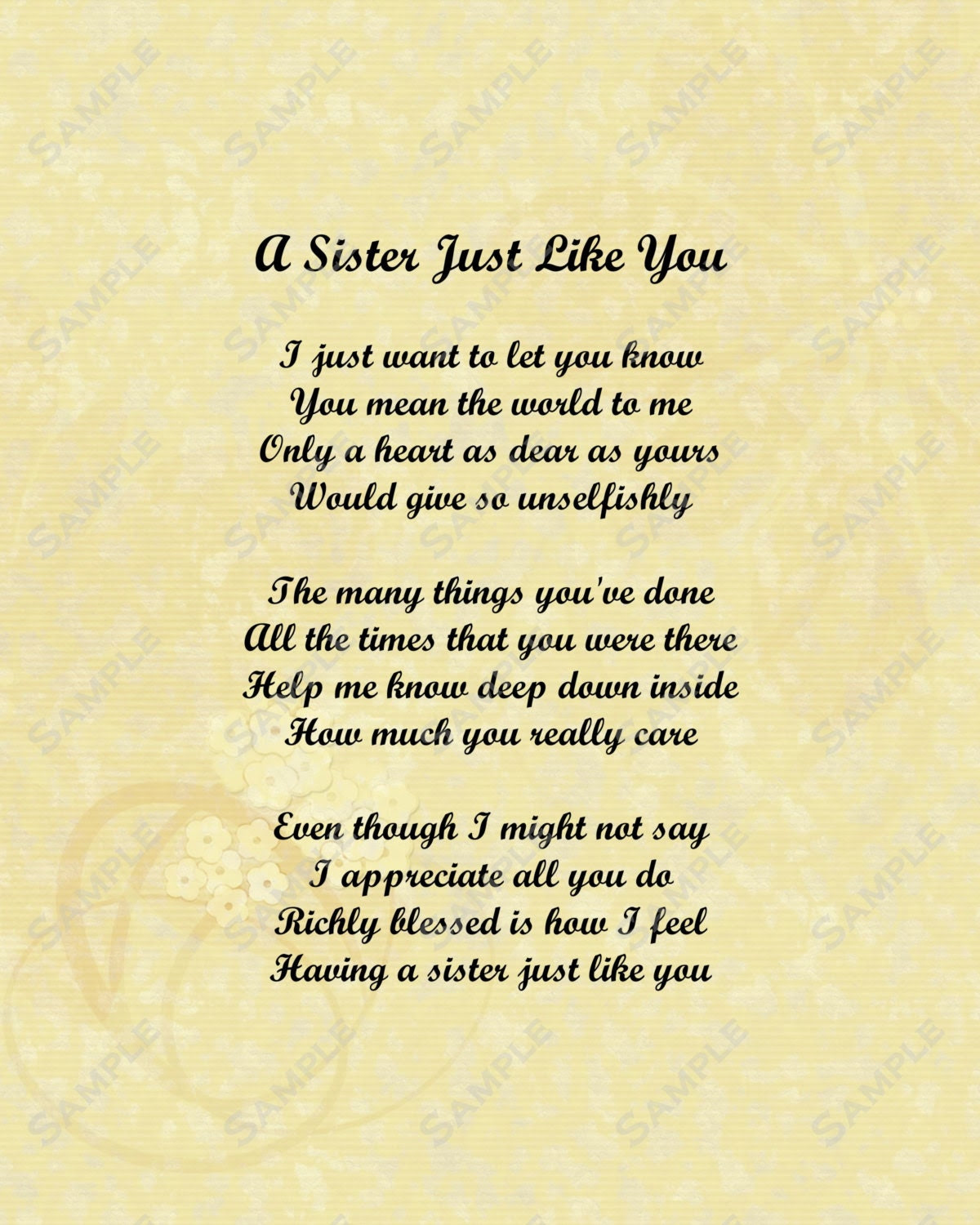 I Love You Sister Poems And Quotes I Love You Sister Poems I Love Love