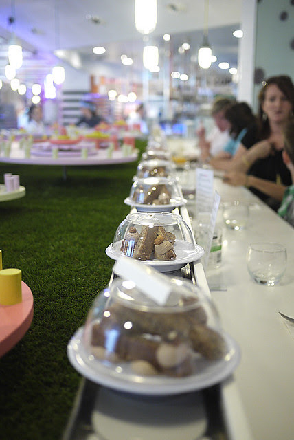 Dessert Train at Adriano Zumbo (The Star, Sydney)