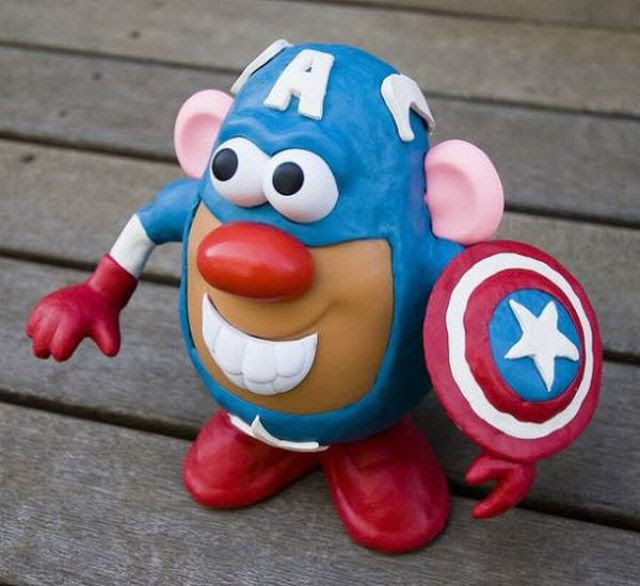 The Coolest Mr Potato Head Designs (25 pics)