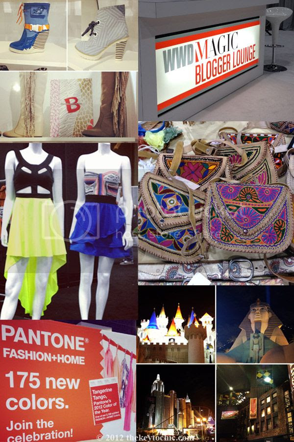 Las Vegas style, WWD MAGIC, Magic trade show fashion, By by Aperire footwear, zudor handbags, Pantone tangerine tango