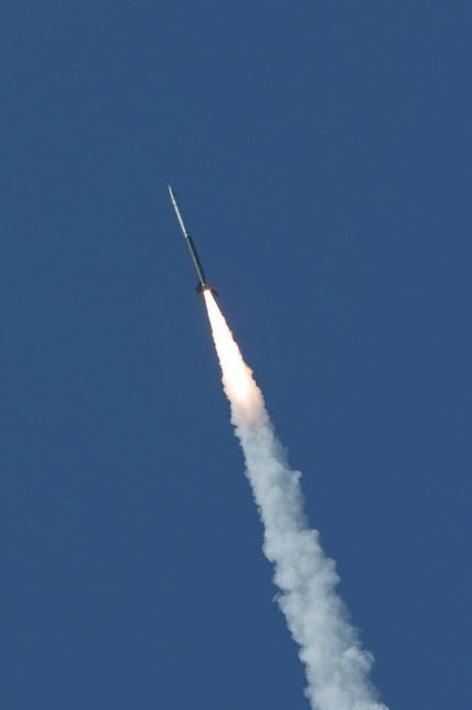 Daytime Dynamo Rocket Launch