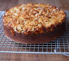Toscakaka (Swedish Caramel Almond Cake)