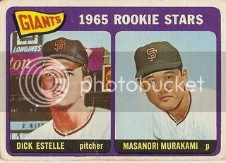 #282 Giants Rookie Stars: Dick Estelle and Masanori Murakami
