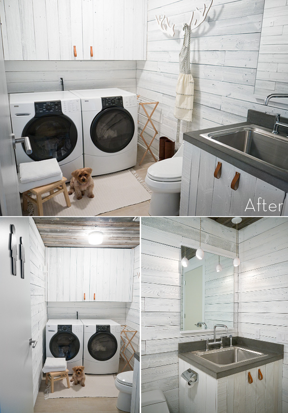 Roundup: 7 Stunning Laundry Room Makeovers! » Curbly | DIY Design ...