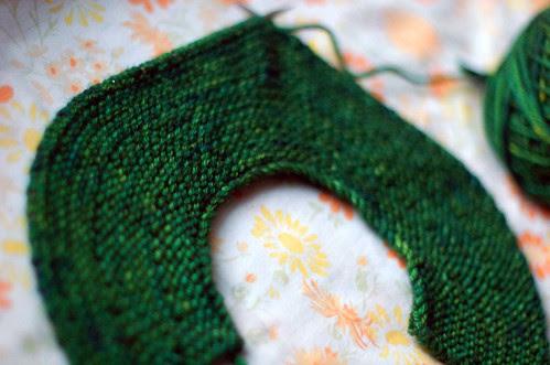 February Baby Sweater (EZ) - Yoke 1