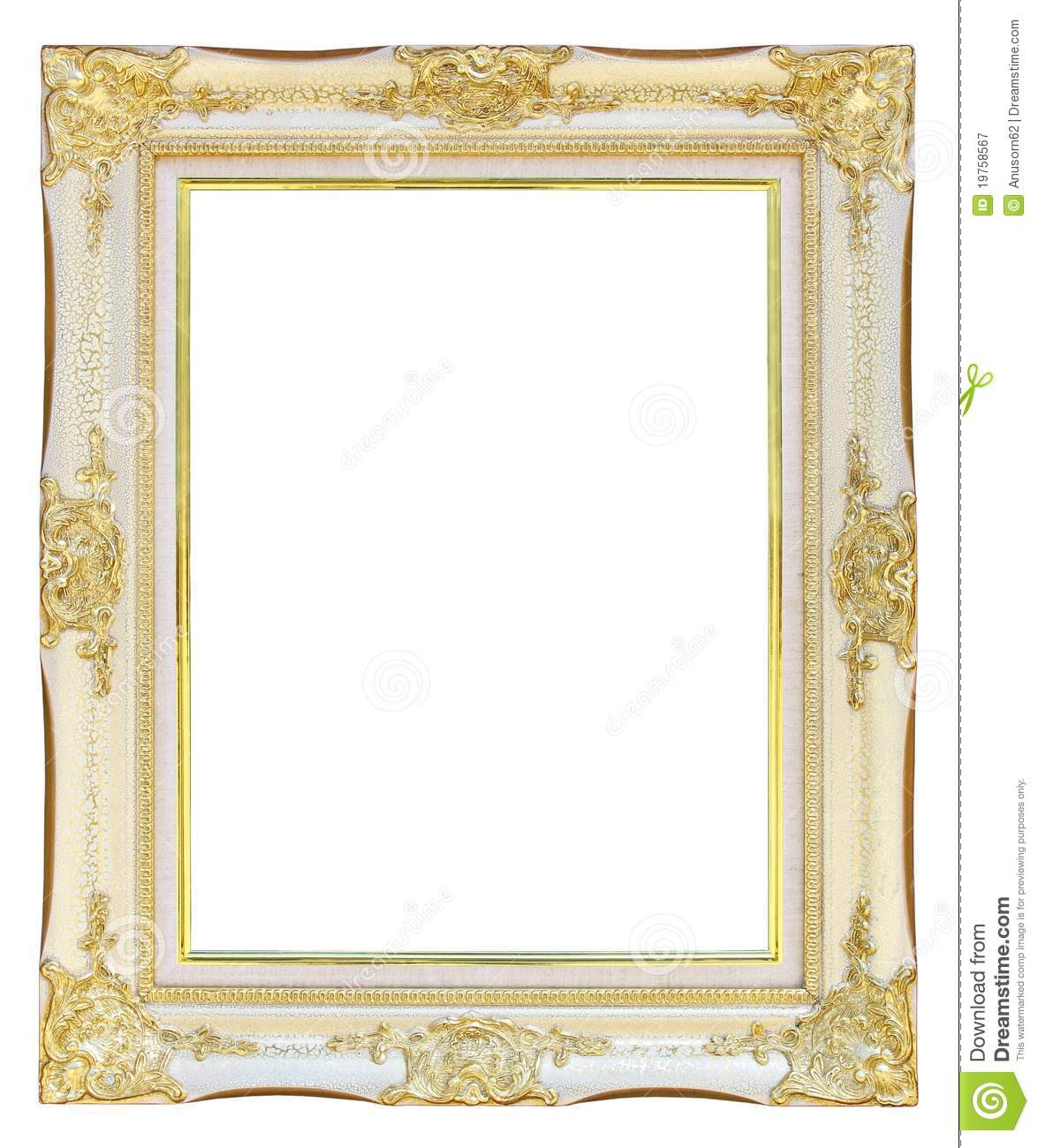 White And Gold White And Gold Frames