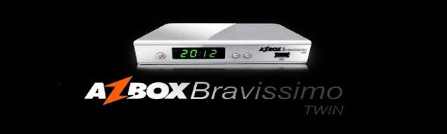 Azbox Bravíssimo Twin Transformado em AZBETA 58W 61W 87W 107W IKS ON - 16/02/2018