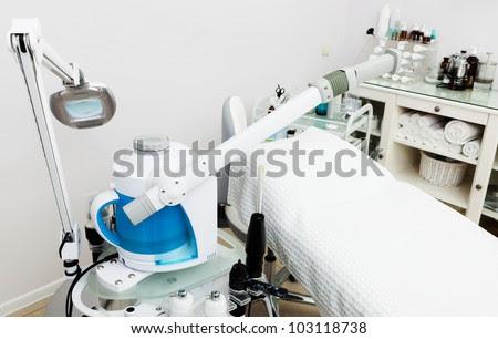 Modern Equipment In The Beauty Salon Stock Photo 103118738 ...