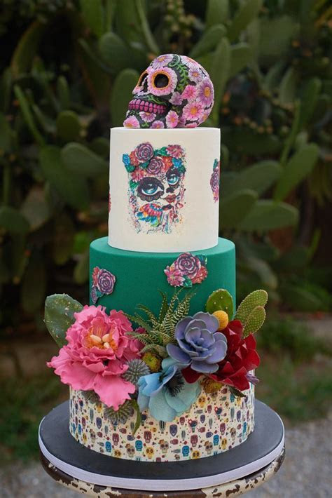 908 best Day of the Dead Wedding cakes and more images on