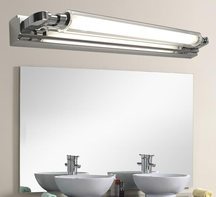 Wholesale Wall Light - Buy DHL 8W T4 Stainless Steel Mirror Light ...