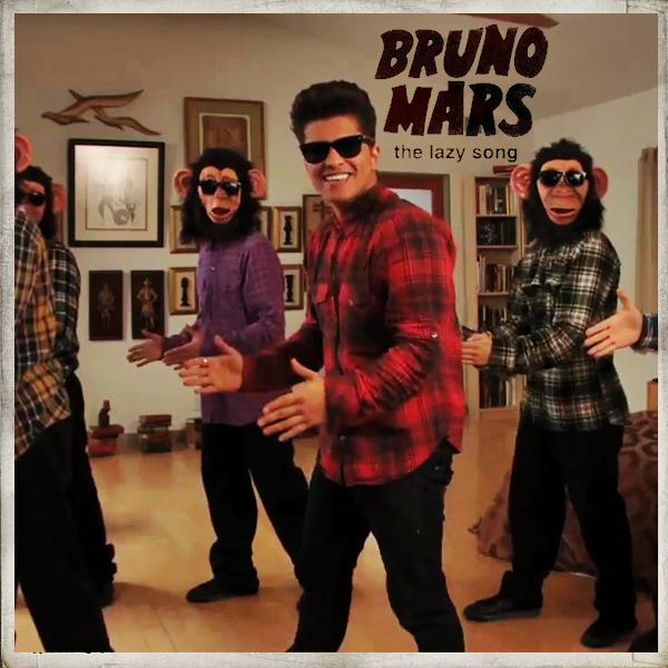 Resultado de imagen para Bruno Mars - The Lazy Song