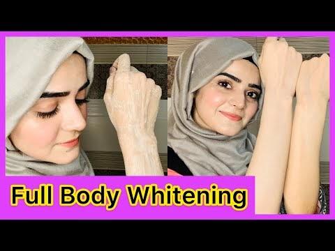 Full Body Whitening Skin Polish Home Remedy
