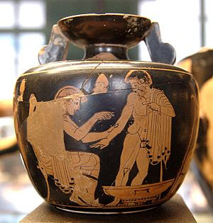 Clinic Painter (eponymous vase)