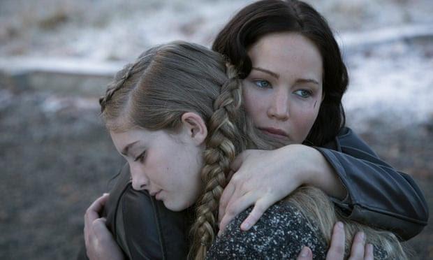Primrose and Katniss Everdeen