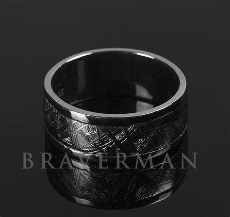 Tough by Braverman Jewelry   Sterling Silver Meteorite