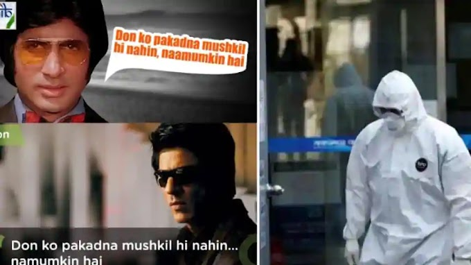 'Both are home, can be arrested': PIBMumbai gives hilarious Covid-19 twist to Don dialogue, shares Shah Rukh, Amitabh pics
