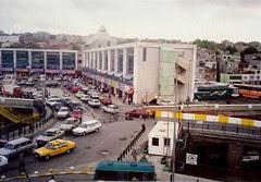 Bus Station Istanbul, Turkey