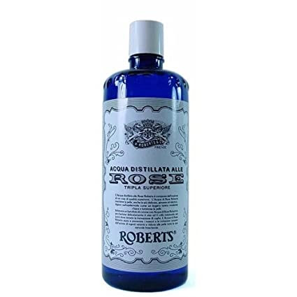 Roberts Acqua Distillata Alle Rose (Distilled Rosewater) 10 fl oz.