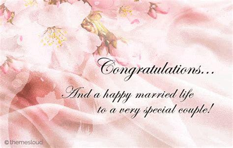 Congratulations! To A Special Couple. Free Congratulations