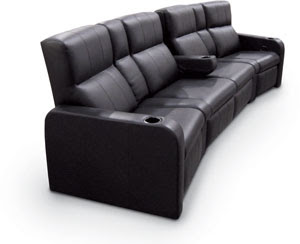 Product News: Fortress Seats Home Theater Goers in Sofa Style, by ...
