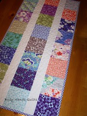 Good Fortune Quilted Table Runner