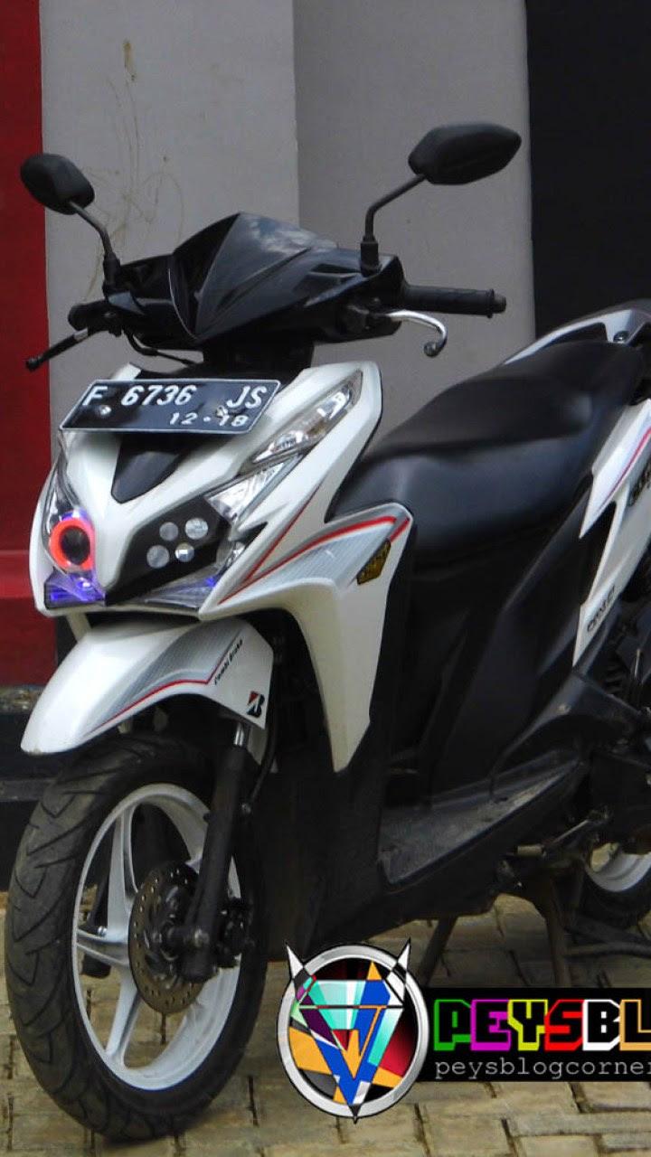 Modifikasi Motor Honda New Vario 125 Terunik Klobot Modif