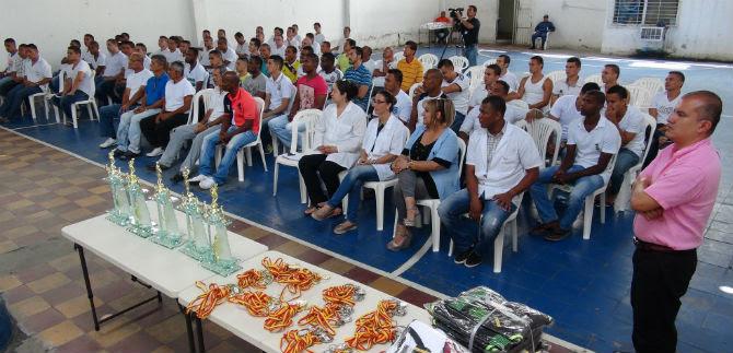 Internos de Villahermosa vivieron Mundialito con torneo de la Alcaldía de Cali