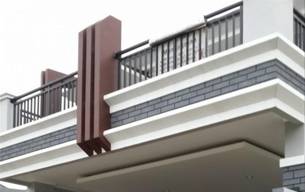19+ Konsep Motif Pagar Balkon Minimalis, Model Pagar Minimalis