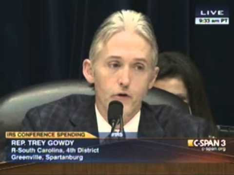 Rep.Trey Gowdy (R-SC) rising star in Benghazi cover-up (video ...