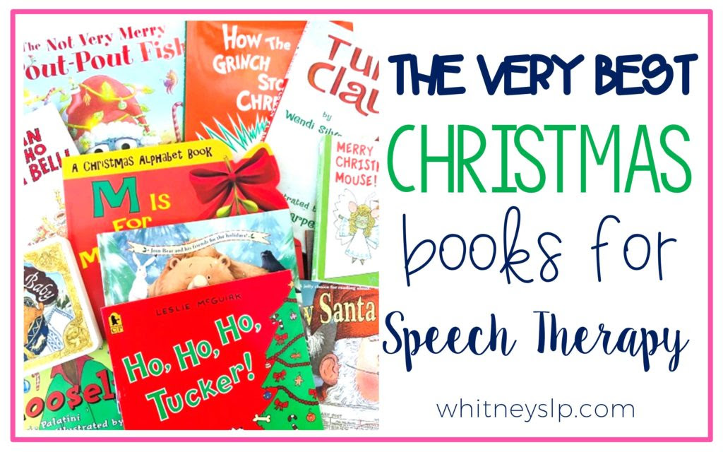 Christmas Books for Speech Therapy - Let's Talk