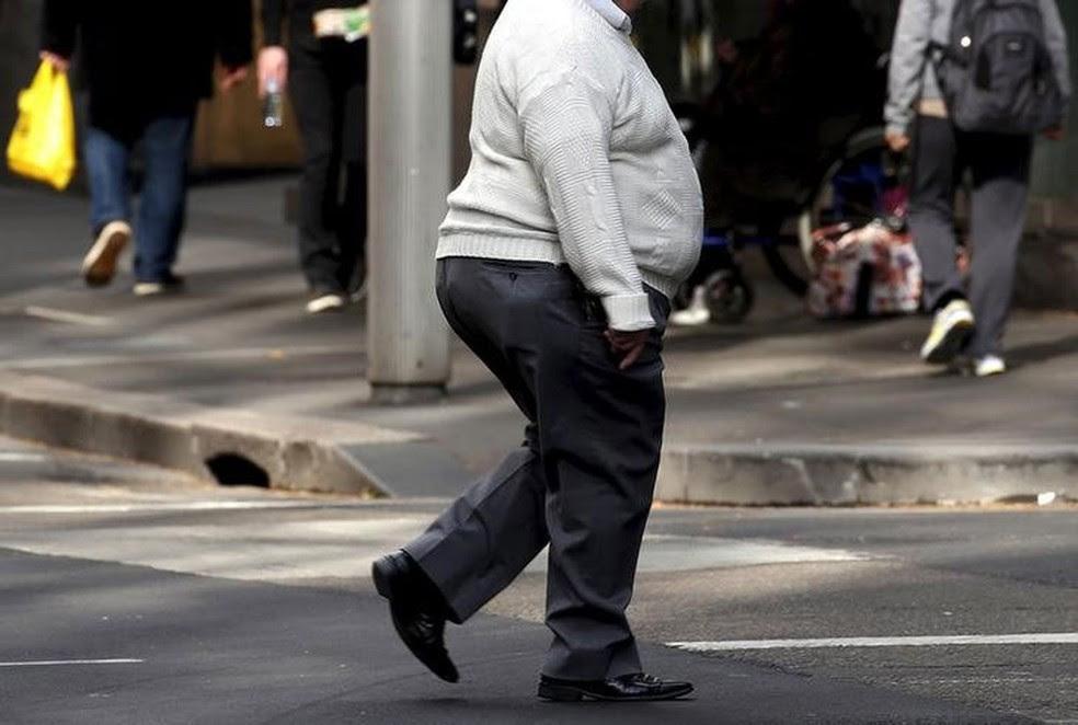 Em Fortaleza, 56,5% da população têm excesso de peso (Foto:  David Gray/Reuters)
