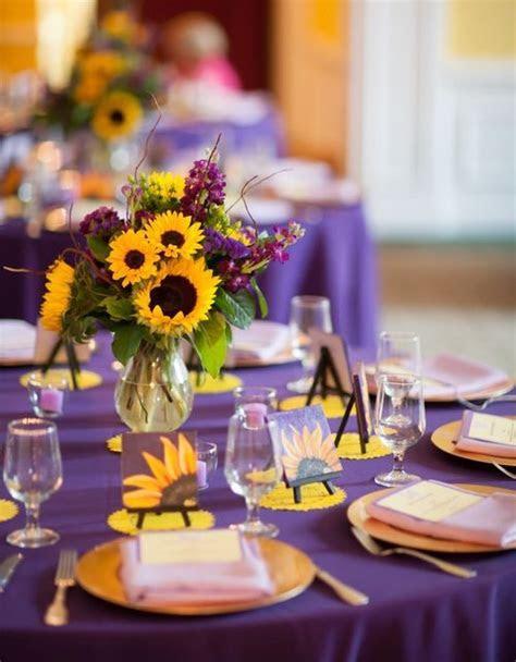 25  best ideas about Yellow purple wedding on Pinterest